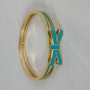 Add-on item. Kate Spade Blue Bow Bracelet
